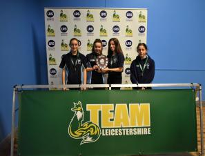 The Market Bosworth School Retain Team Leicestershire Table Tennis Title!