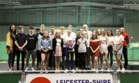 Team Leicestershire County Champions celebrated