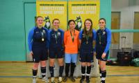 Brookvale Groby kick-off Team Leicestershire Finals with U18 Girls Futsal Victory!
