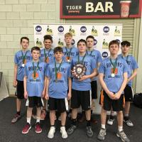 Rawlins claim three Victories at the Team Leicestershire Boys Basketball Finals