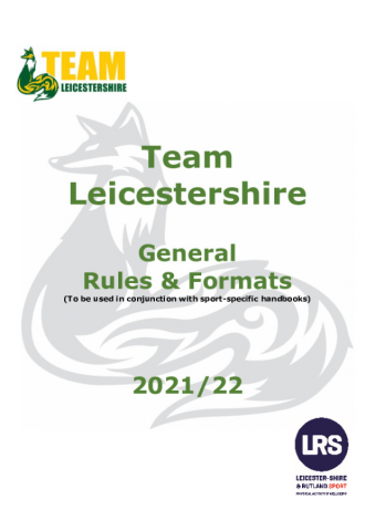 Generic Team Leicestershire Rules and Formats