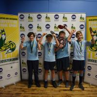 Manor High School and Uppingham Community College bat their way to victory at Team Leicestershire Boys Table Tennis!