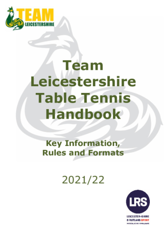 20 21 TL Table Tennis Booklet
